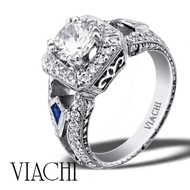 platinum-round-brilliant-diamond-sapphire-hand-engraved-ring-by-viachi
