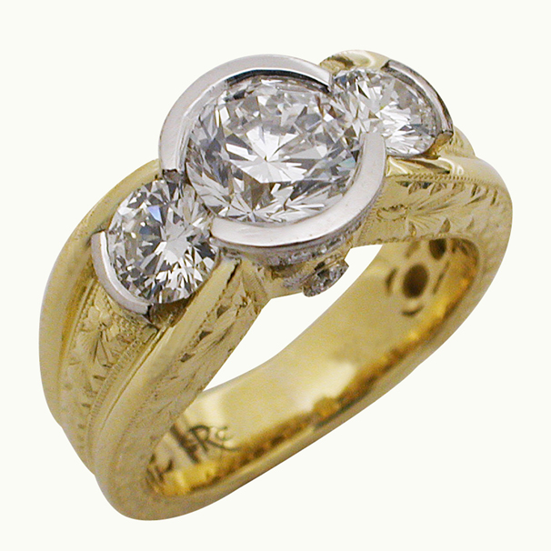 18kt-yellow-gold-platinum-three-stone-round-brilliant-diamond-ring-by-rgc