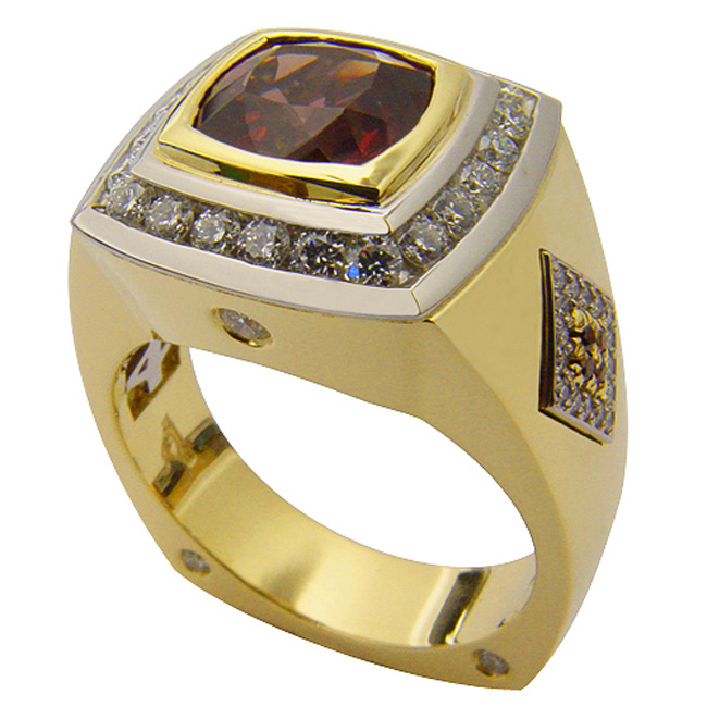 18kt-yellow-gold-platinum-garnet-mens-ring-by-rgc