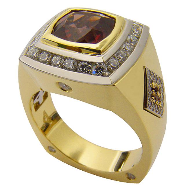 18kt-yellow-gold-platinum-garnet-mens-ring-by-rgc