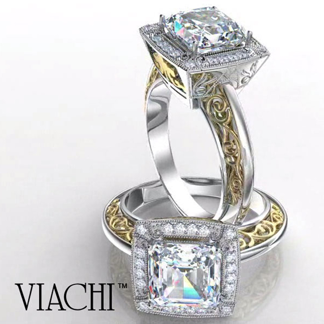platinum-18kt-yellow-gold-modified-princess-cut-diamond-ring-by-viachi