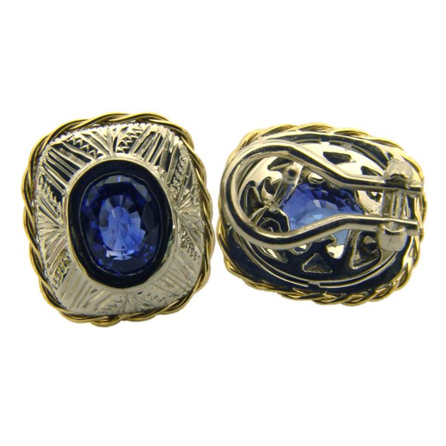 platinum-18kt-yellow-gold-sapphire-earrings-by-rgc