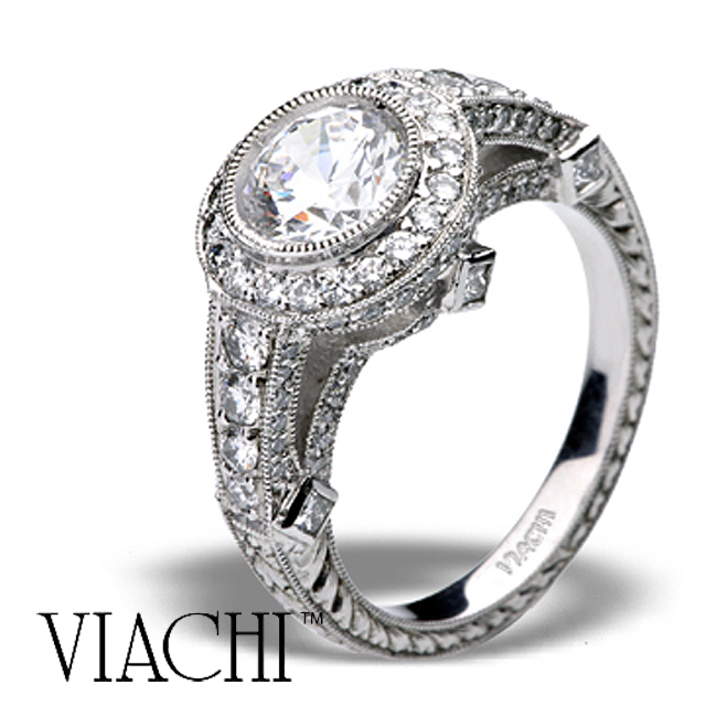 platinum-halo-round-brilliant-diamond-hand-engraved-ring-by-viachi-2