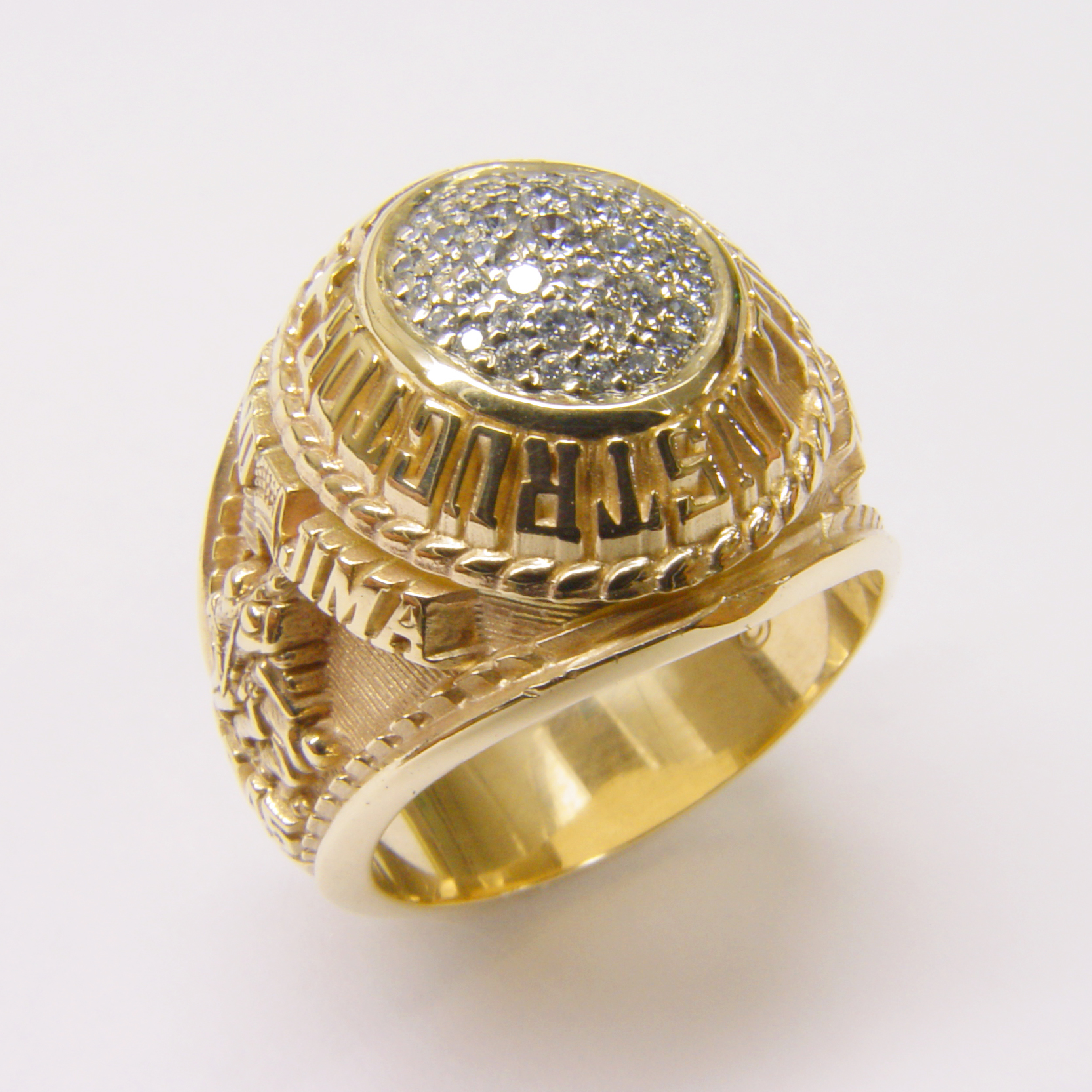 18kt Yellow Gold and Diamond Ring by RGC