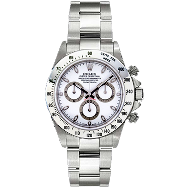 Men's Stainless Steel Daytona Rolex Watch