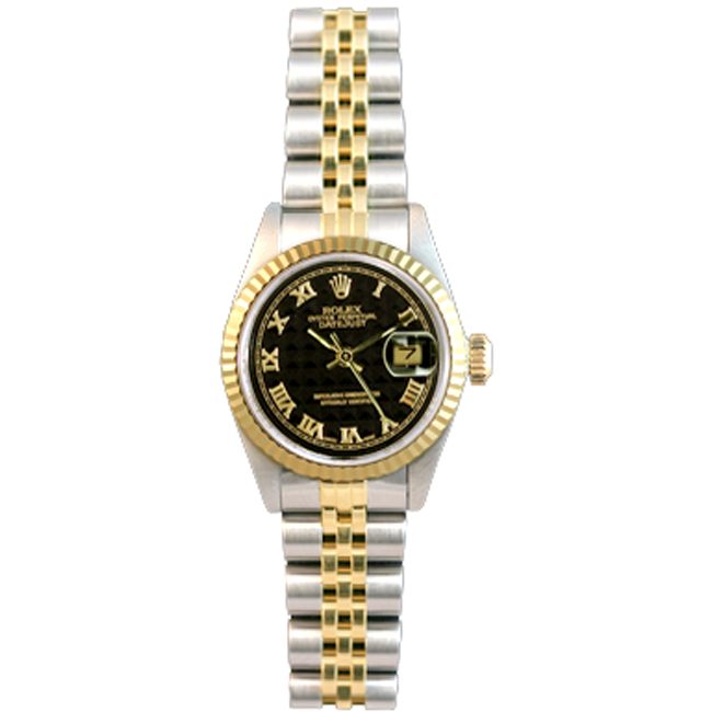 Ladies' Stainless Steel & 18kt Yellow Gold DateJust Rolex Watch
