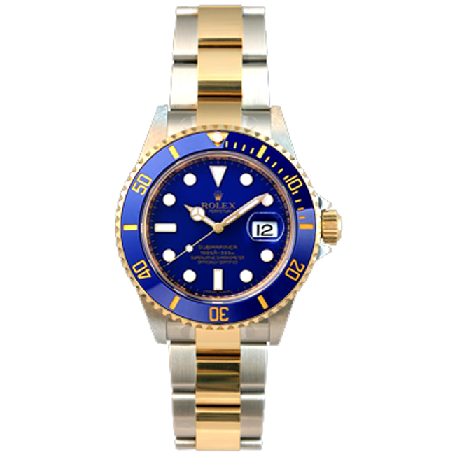 Gent's New Style 2-Tone Submariner Rolex Watch