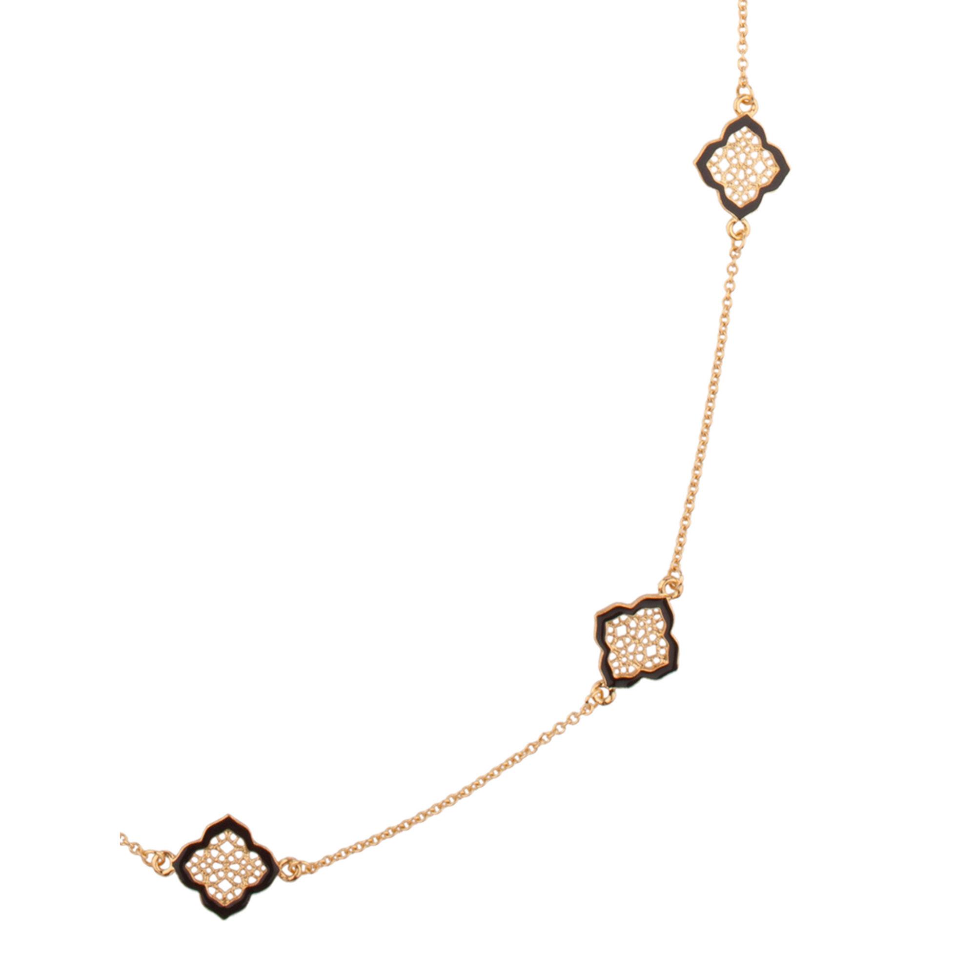 Gold and Enamel Pendant